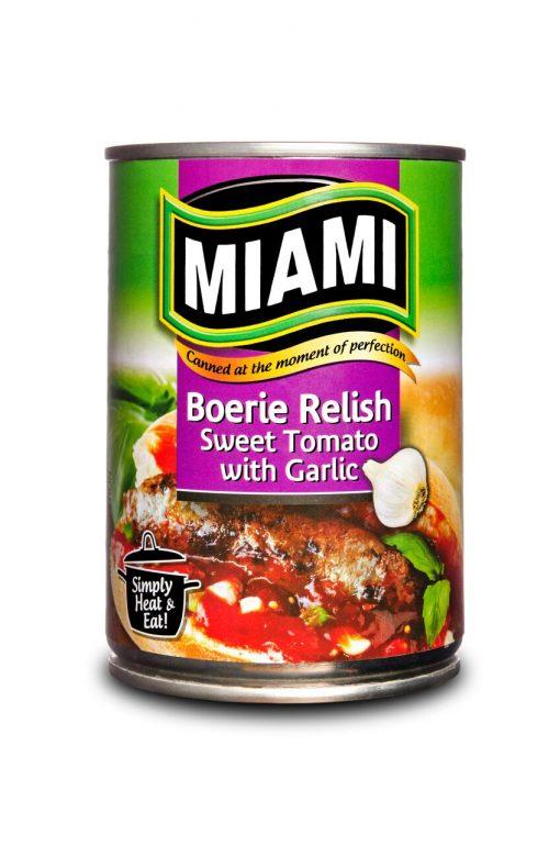 Miami Boere relish Sweet tomato with Garlic