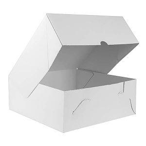 Plain White Cardboard