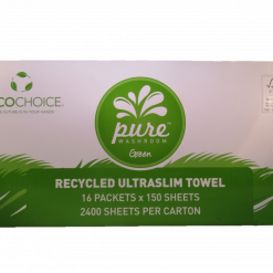 recycled ultra slim hand towel