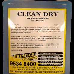 clean dry 5lt