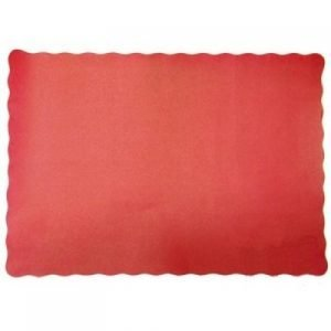 Scalloped - Red